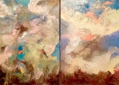 Diptych Cloud Studies