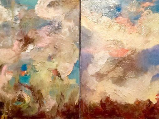 Diptych Cloud Studies
